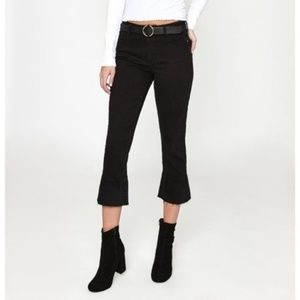 PacSun High Rise Crop Kick Jeans